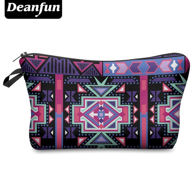 Deanfun 2016 3D Printing Small Cosmetic Bag Women Fashion Brand H1