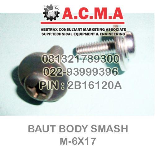Abstrax Consultant Marketing Associate: BAUT BODY SMASH M-6X17 BAUT MOTOR ACMA