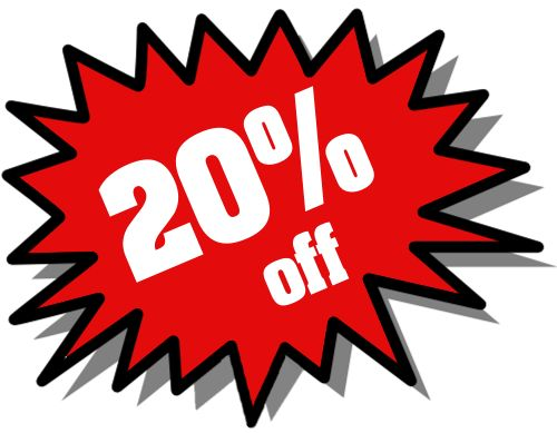 While you're out shopping this weekend come in today Friday August 8th-August 9th & receive 20% off your entire retail purchase!   For more information fill free to call us at 210-824-1541