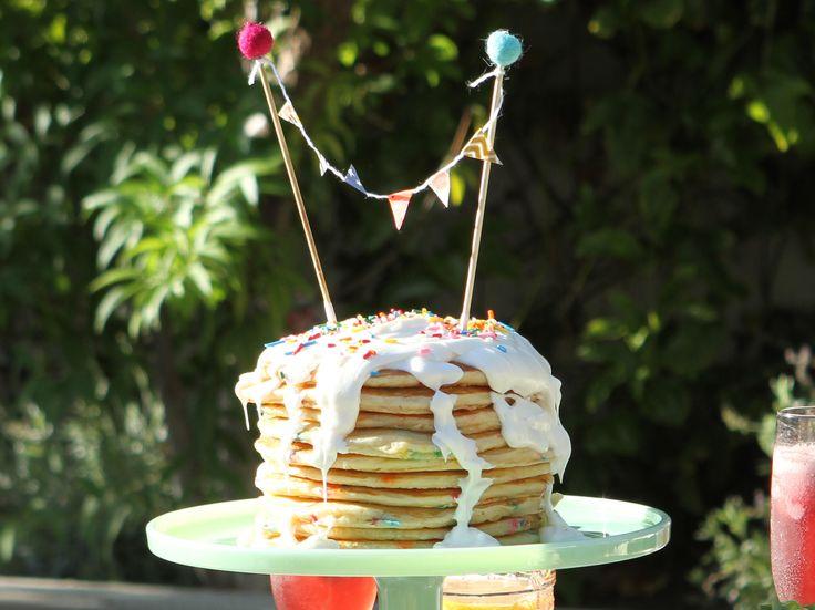 Confetti Pancake Cake