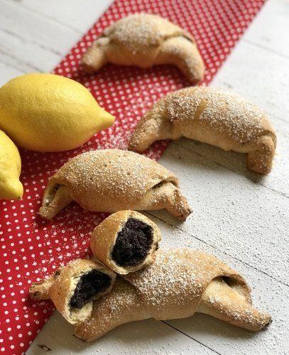 Mákos kifli Szafi Reform kenyér- és péksüti lisztből - Sütemények - Gluténmentes övezet - blog