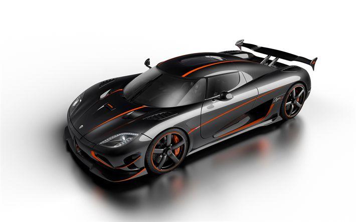 Descargar fondos de pantalla Koenigsegg Agera RS, 4k, hypercar, supercar, el ajuste de la Agera, nuevos coches deportivos, Koenigsegg