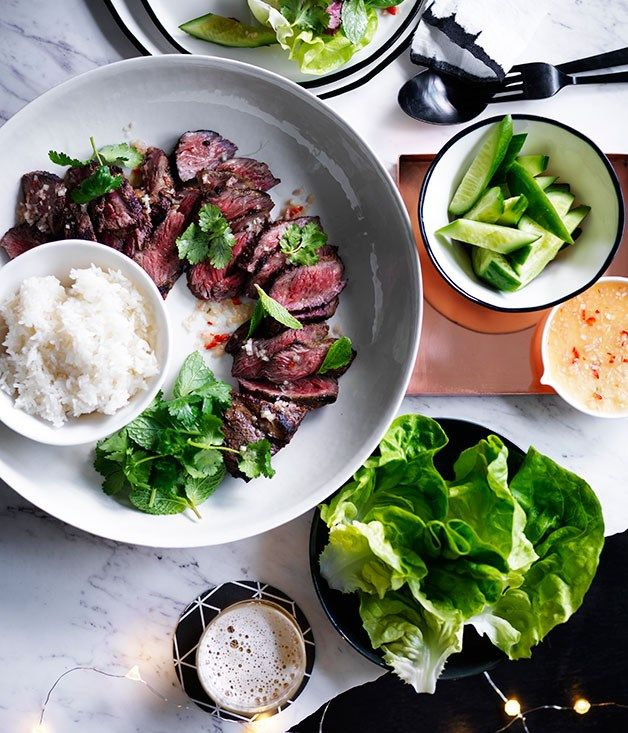 Lime and coconut marinated short ribs recipe :: Gourmet Traveller