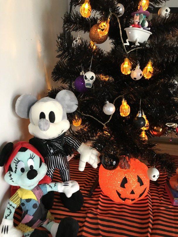 The Nightmare Before Christmas Halloween Tree Halloween