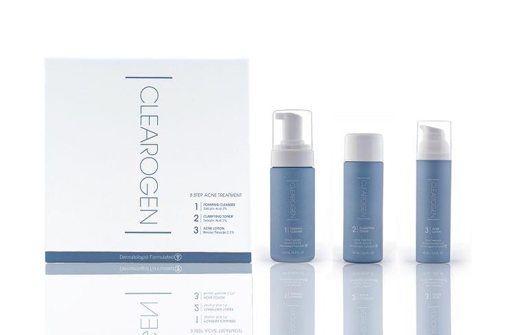 Clearogen is een innovatieve acne-behandeling. Het werkt tegen bestaande acne, stopt de verdere verspreiding en voorkomt nieuwe uitbraken. Clearogen pakt Acne aan bij de bron.
