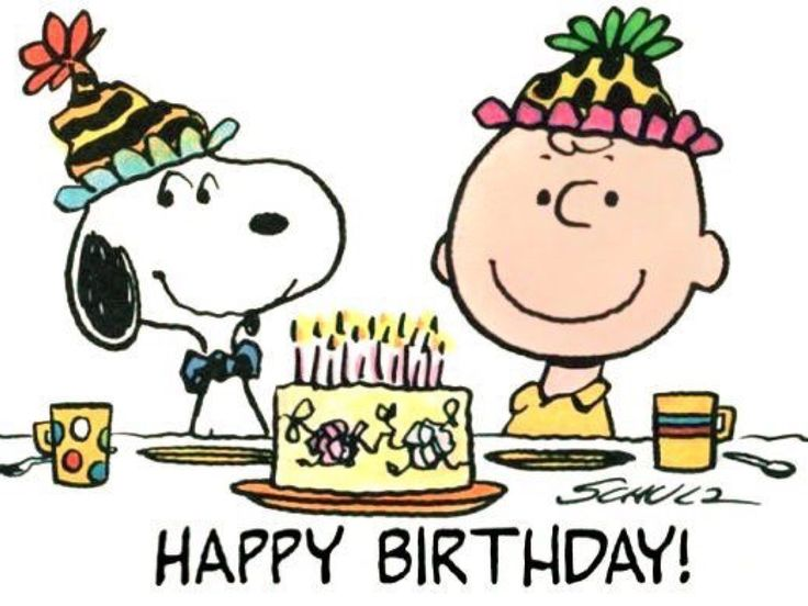 Image result for snoopy happy birthday images