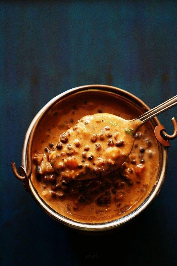 Dal Makhani Restaurant Style by vegrecipesofindia #Dal #Beans #Garlic #Tomato