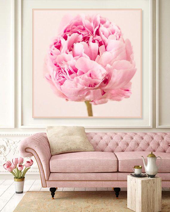 Peony Phototgraphy Wall Art Pink Peonies Art Print Still
