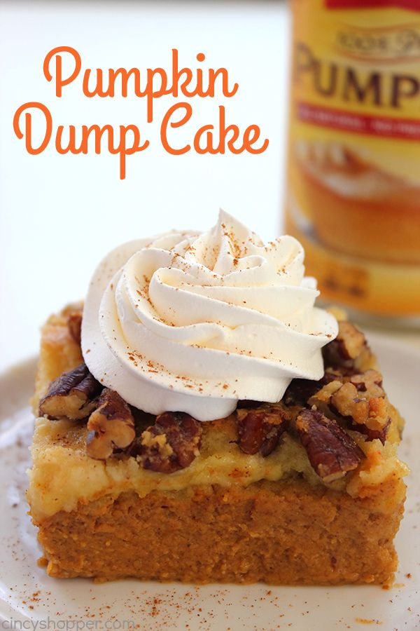 Fall is just around the corner and this super simple Pumpkin Dump Cake needs to be on your fall baking lists. This no fail recipe is so easy. Just mix up your ingredients, dump in a pan, and toss in the oven. Easy Peasy! Pumpkin Dump Cake Pumpkin desserts are always a huge hit in...Read More