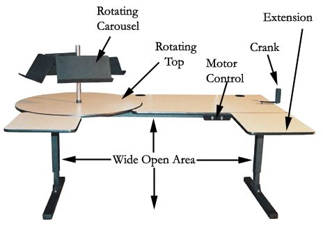 62 Best Images About Accessible Desks And Tables On Pinterest