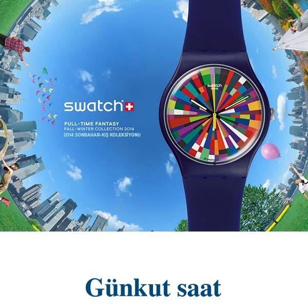 Yeni sezonda, Swatch kol saatleri ile renkler dünyaya hükmedecek!  http://www.gunkutsaat.com/catinfo.asp?src=SWATCH+2014+YAZ+KOLEKS%DDYONU&imageField2.x=25&imageField2.y=8