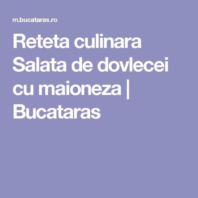 Reteta culinara Salata de dovlecei cu maioneza | Bucataras