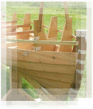 A general description of Lapstrake or Clinker planking for wooden boat building.