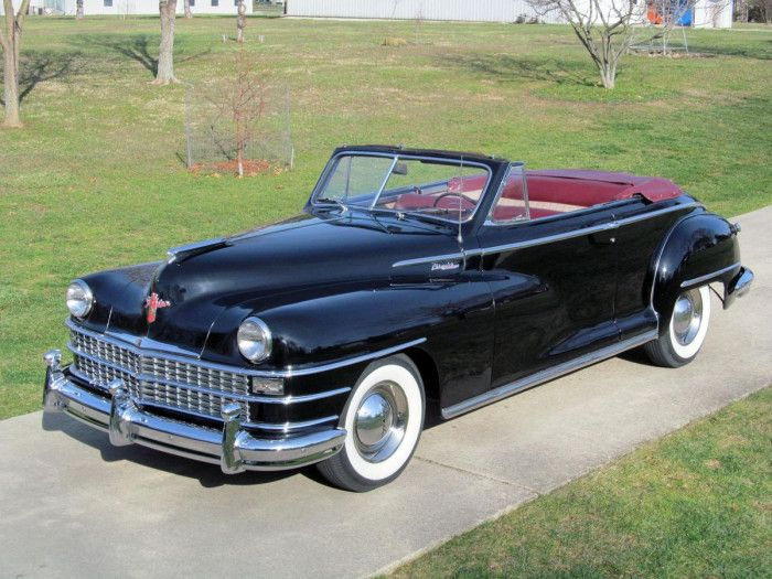 1948 Chrysler Windsor Convertible Chrysler Pinterest