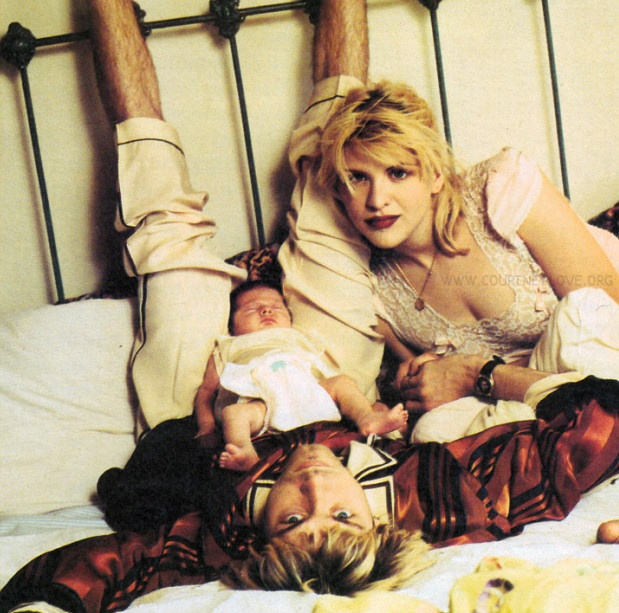 Courtney Love husband Kurt Donald Cobain
