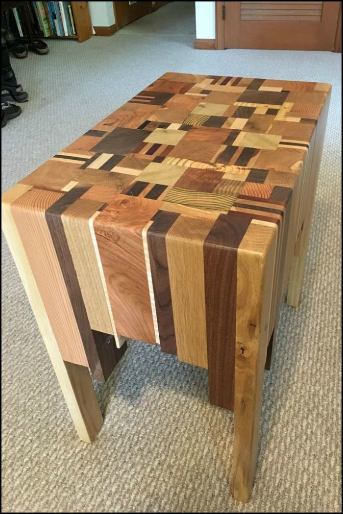 Got Some Scrap Wood in Your Workshop You're Throwing Away? This Project Will Make You Think Twice