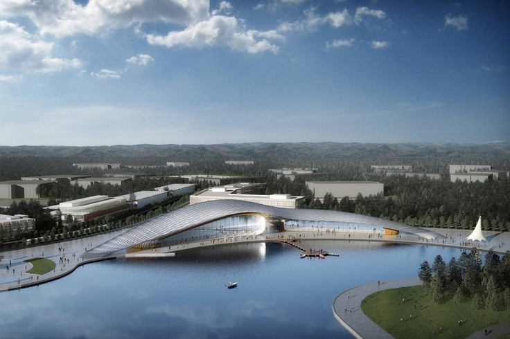 Research Triangle Park Masterplan by Nicholas Grimshaw (Research Triangle, 2011)