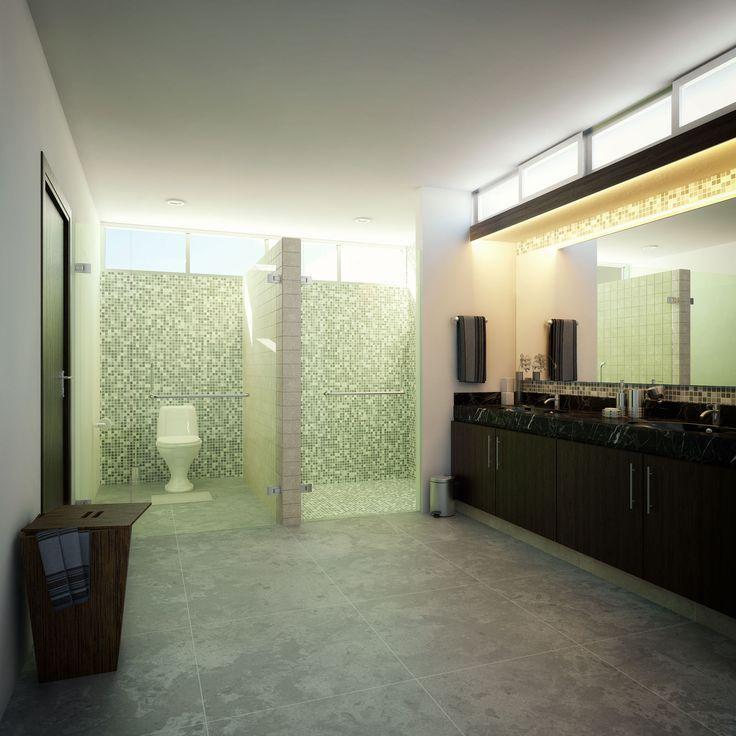 Render Interior Baño - EVA3D