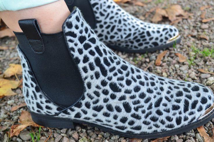 Panterprint schoenen, sacha