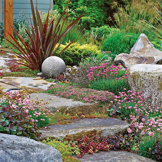 For every problem area in your landscape, you'll find perennials that not only survive but also thrive in the conditions available. Simply match the preferred growing conditions of each perennial to your site./