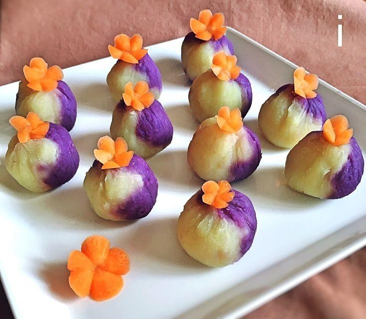 izoomさんのお料理2色のさつま芋きんとん パープルスイートロード紅あずま Mashed two types of sweet potatoes #snapdish #foodstagram #instafood #homemade #cooking #foodphotography #instayummy #料理 #おうちごはん #テーブルコーディネート #器 #暮らし #きんとん #栗きんとん #さつま芋 #正月 #おせち #おせち料理 #御節料理 #御節 https://snapdish.co/d/Cvufaa