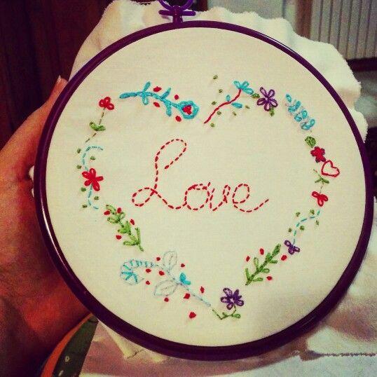 Embroider Hoop Art! #Strufuluffandia e il #cucitoCreativo!