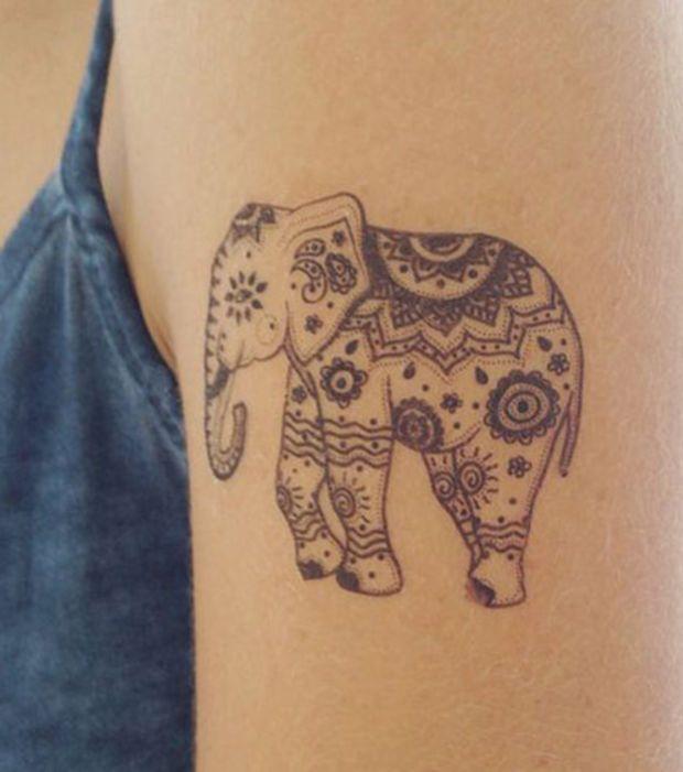 17 meilleures id es propos de tatouage tribal bras sur pinterest tatouage maori bras - Signification tatouage elephant ...