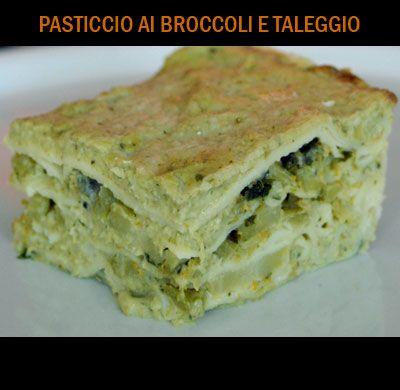 Pasticcio broccoli e taleggio