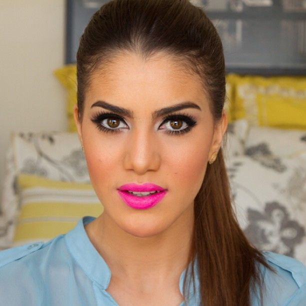 17 Best images about Bright Pink Lipstick Day Inspiration ...