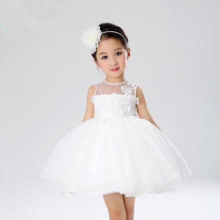 Nuevas muchachas del verano atan vestidos buena calidad de organza de princesa dress kids niños flor de la boda muchacha muchachas del vestido de bola Z175(China (Mainland))
