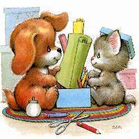 N Animals, Cute Baby Animals, Critter Sitters, Cute Dogs, Cute Babies, Gifs, Kawaii, Art Plastique, Cat Art