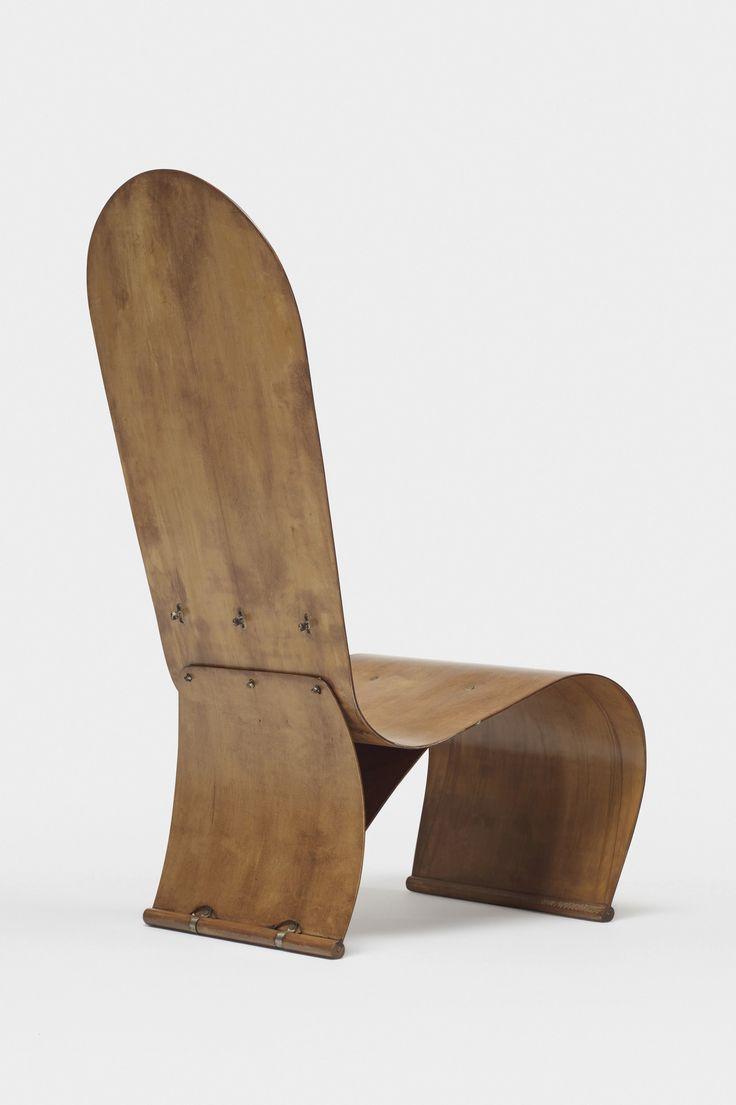 Herbert von Thaden Plywood chair, Thaden-Jordan Furniture Company USA, 1947 | Wright Auctions