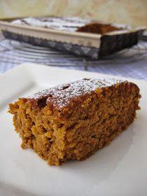 HOLA!!!!   Hoy otro carrot cake (son mi debilidad junto con los de calabaza). Además me lo he hecho adaptado a mis intolerencias p...
