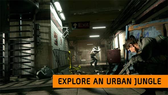 Tom Clancy's The Division PC Game graphic of urban jungle siege