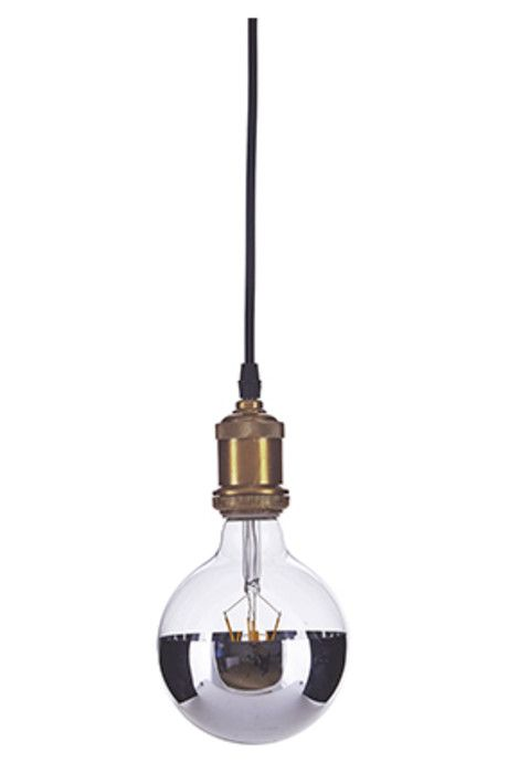 Trouva: House Doctor Silver Dipped Bulb