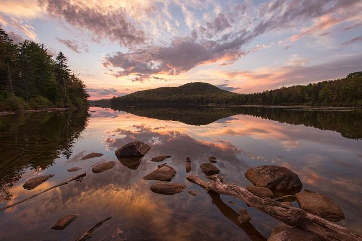 Kettle Pond Sunset by Michael Blanchette on 500px