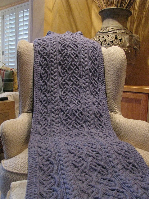 St. Brigid Shawl. I am in awe.... I don't knit and would love to receive this by a wonderfully skilled knitter.... Hint hint. :)