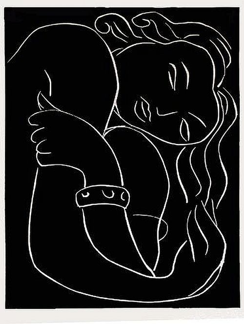 Black  White Matisse