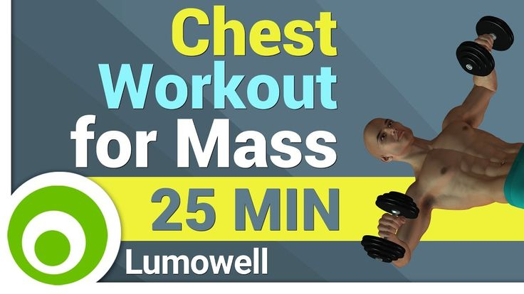 Chest Workout for Mass at Home