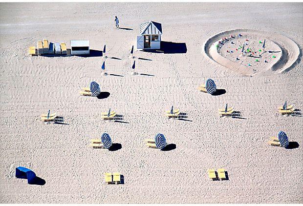 Blue and Yellow Chairs, South Beach on OneKingsLane.com