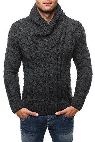 OZONEE Pull Hommes pull Pull tricot Veste tricotée JEEL 4826