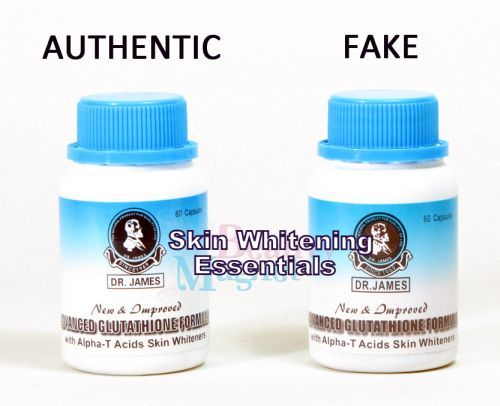 Dr. James Glutathione skin whitening pills - Google Search