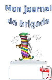 Le journal de brigade - page de garde