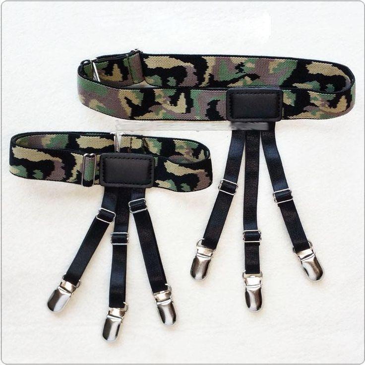 KWAN.Z male suspenders adult common tirantes hombre braces for women suspensorio shirt suspenders bretelles hommes jartiyer