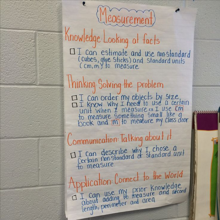 Measurement Success Criteria