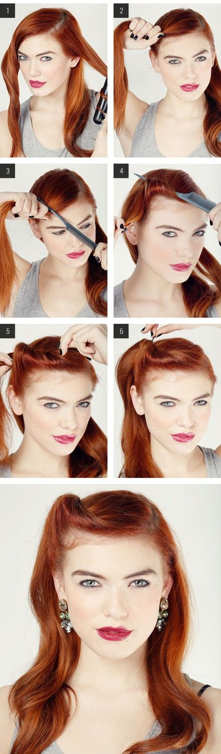 9 Hairstyles Hair Tutorial for do-it-yourself for any Occasion  continua su: http://www.robadadonne.it/41657/acconciature-capelli-fai-da-te-veloci/#ixzz3j63Fq7RQ  Roba da Donne