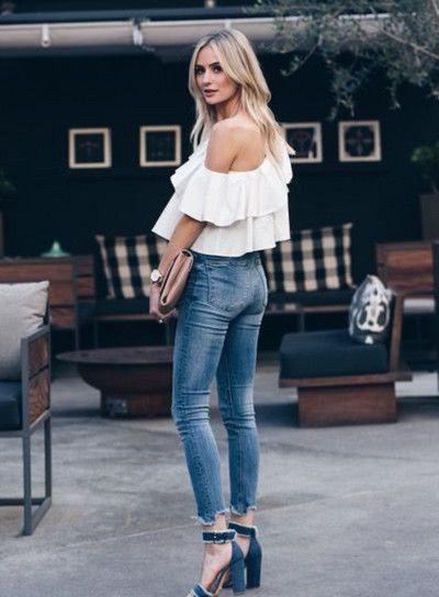 Add Chunky Heels - How to Wear Ruffles Without Looking Like a Toddler - Photos