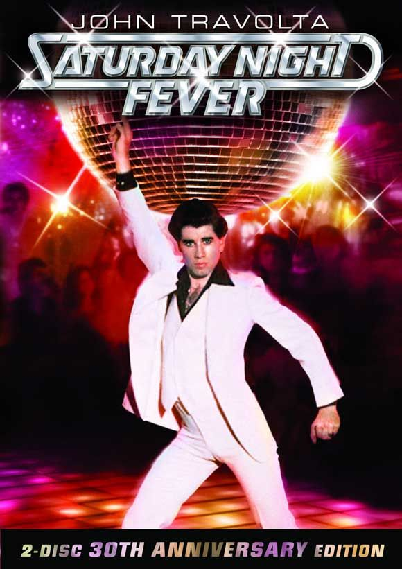 Saturday Night Fever. I love any movie that makes me want to dance.