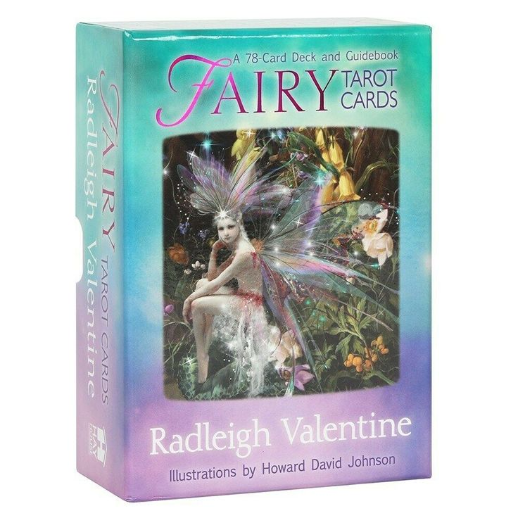 Fairy tarot cards a 78card illustrated deck guidebook