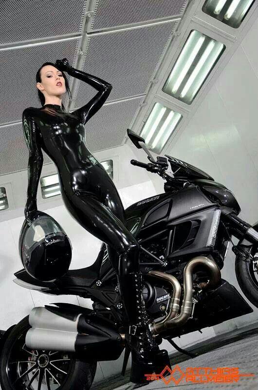 suit Latex motorcycle